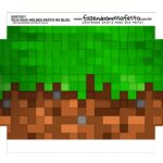 Caixa Explosao Mini Confeiteiro Minecraft parte 8