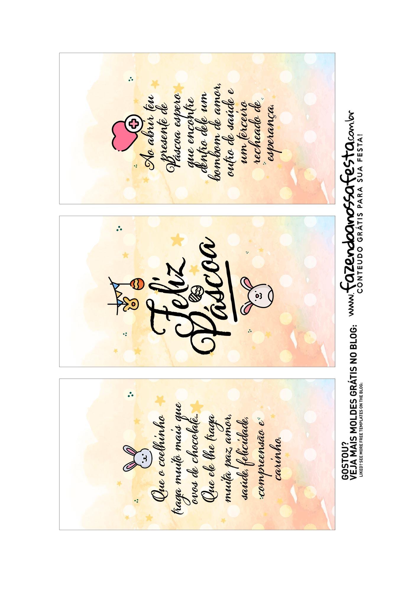 Caixa Explosao Pascoa colorida parte 2