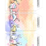 Caixa Explosao Pascoa colorida parte 4
