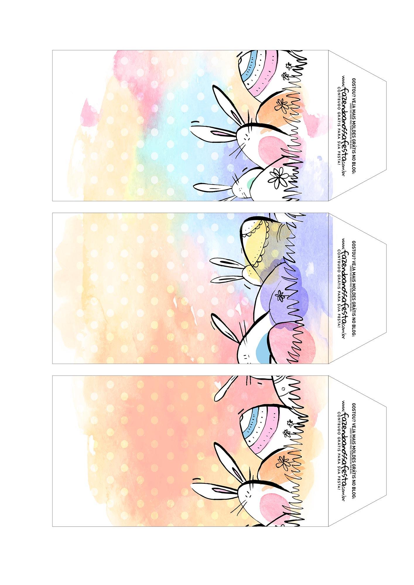 Caixa Explosao Pascoa colorida parte 7