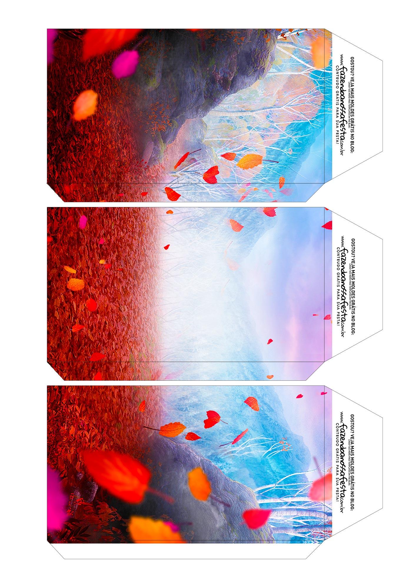 Caixa Explosiva Pascoa Frozen 2 4