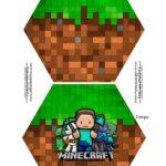 Caixa Explosiva Pascoa Minecraft 1