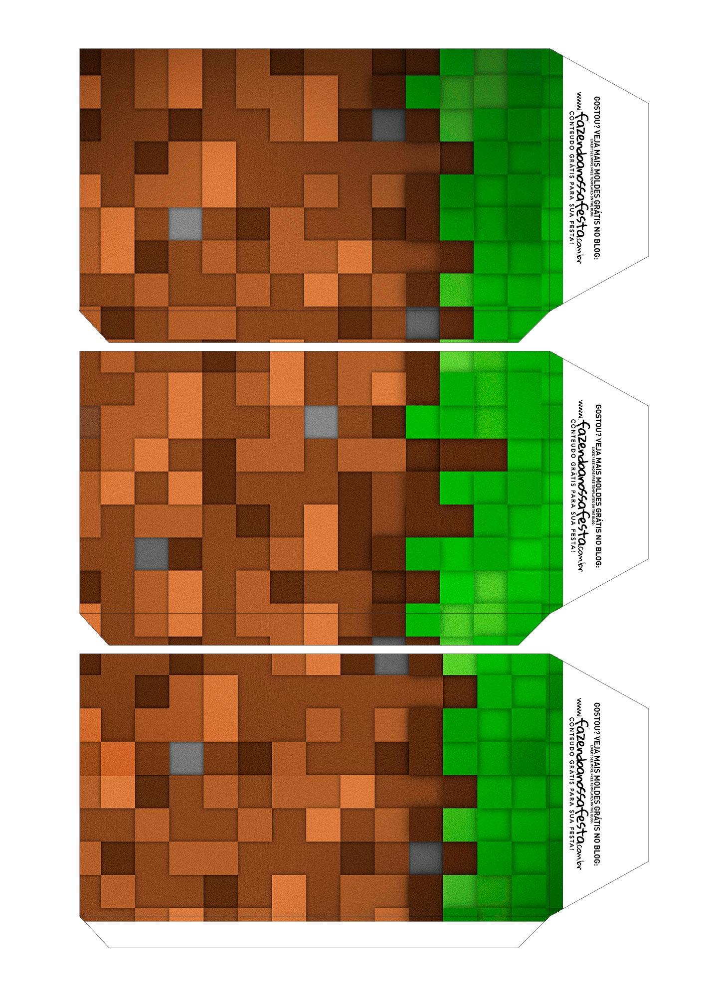Caixa Explosiva Pascoa Minecraft 5