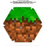 Caixa Explosiva Pascoa Minecraft 9