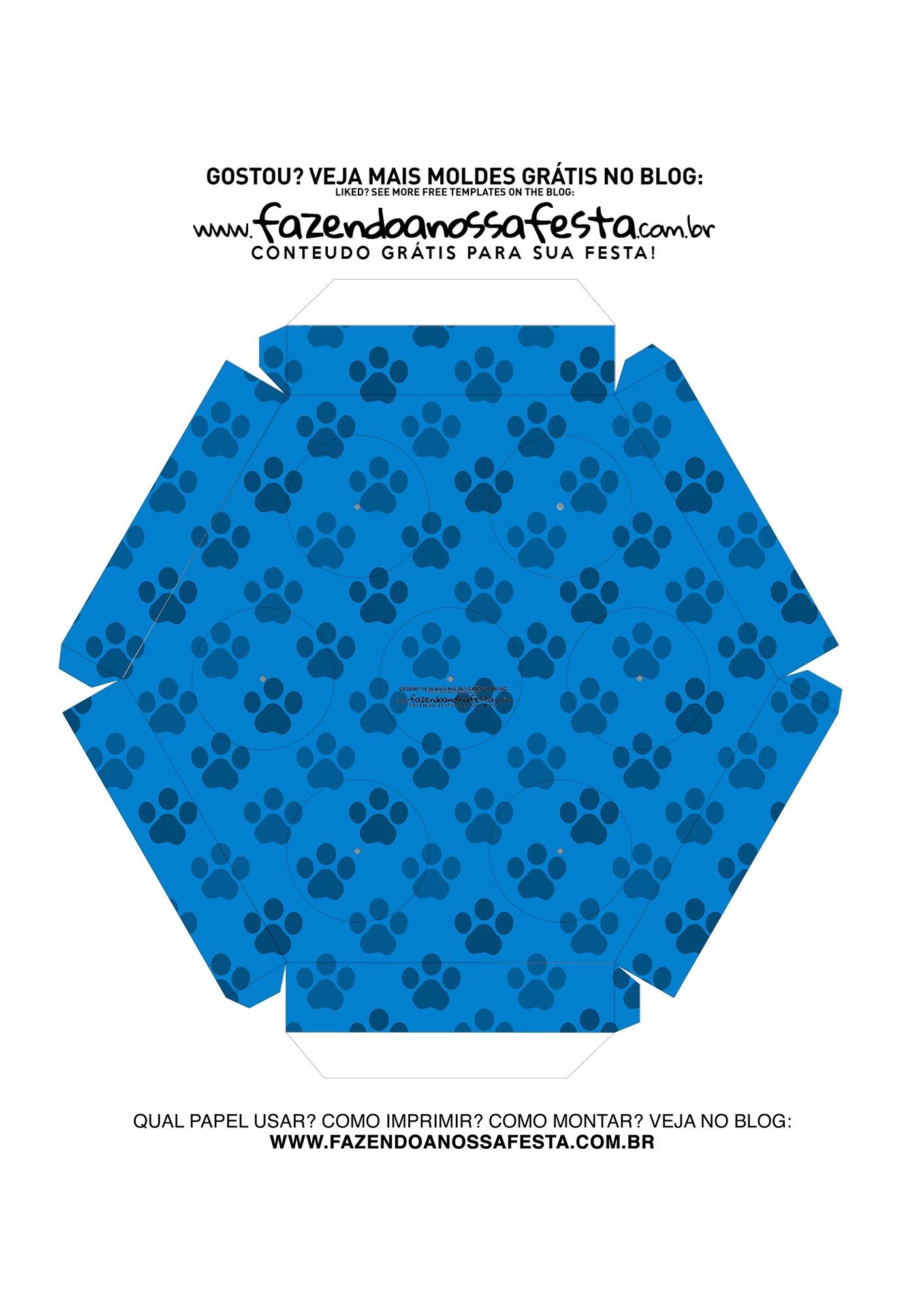 Caixa Explosiva Pascoa Patrulha Canina 8