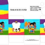 Caixa Kit Colorir 3 Palavrinhas