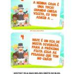 Kit Caca ao Ovos Mundo Bita plaquinha pista 2