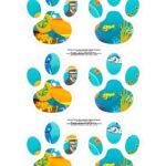 Kit Caca aos Ovos Bita no Fundo do Mar patinhas