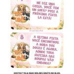 Kit Caca aos Ovos Bosque Encantado Rosa pista 4