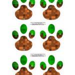 Kit Caca aos Ovos Minecraft patinhas