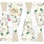 Caixa Buque Floral Cinza parte 1