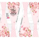 Caixa Buque Floral Rosa parte 1