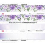 Caixa Coracao Floral Roxo 2