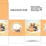 Caixa Kit Colorir Bosque Encantado Laranja
