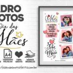 Quadro Dia das Maes Personalizado com foto