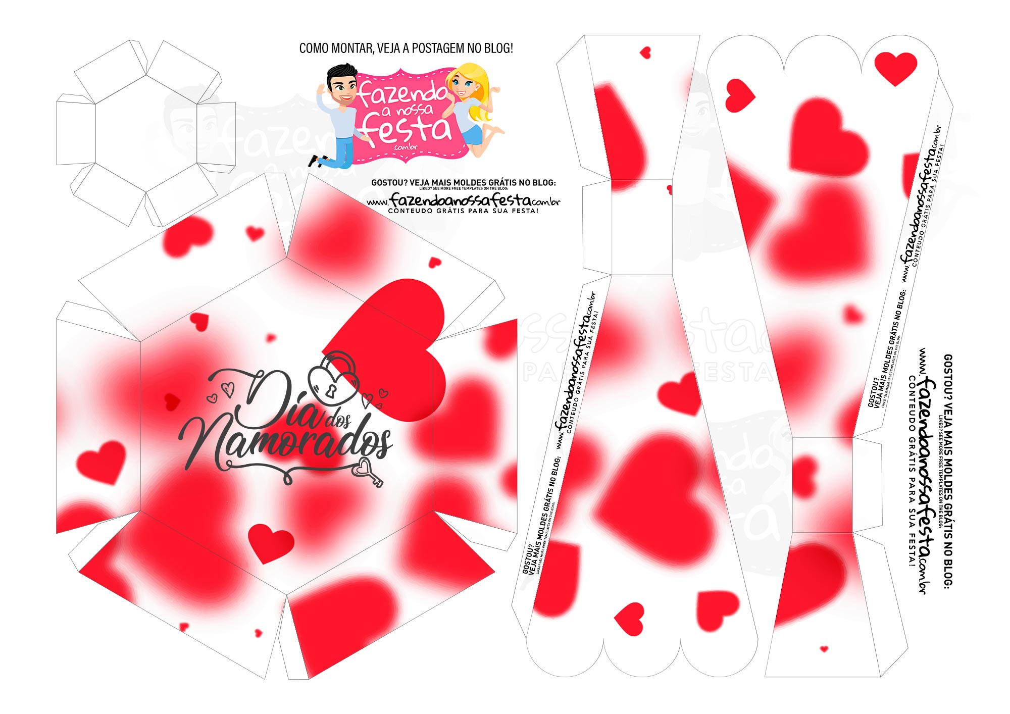 Caixa Buque Feliz Dia dos Namorados 2