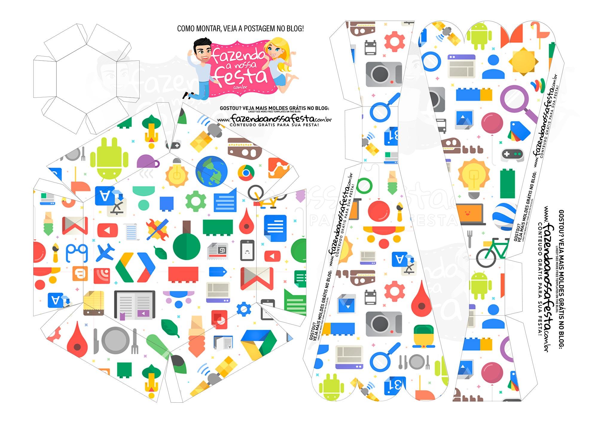 Caixa Buque Google 2