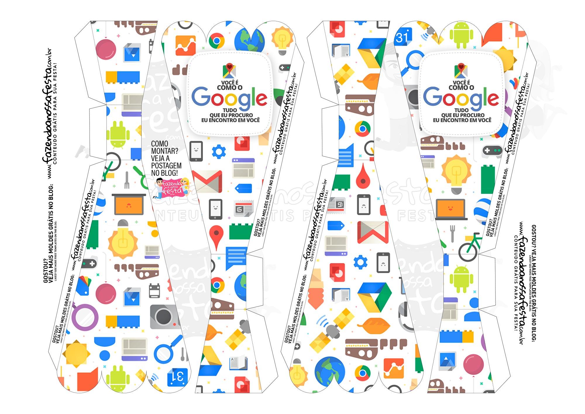 Caixa Buque Google