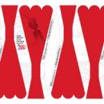 Caixa Buque Vermelha Casal