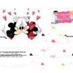 Caixa Coracao Mickey