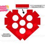 Caixa Coracao Vermelho 3