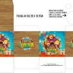 Caixa Kit Colorir Kit Festa Sao Joao do Bita