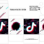 Caixa Kit Colorir Tik Tok