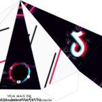 Caixa Piramide Tik Tok