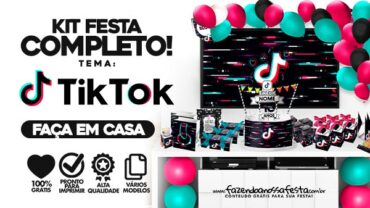 Kit Festa Tik Tok