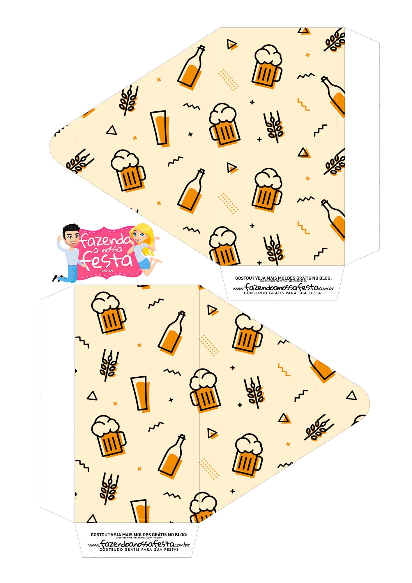 Caixa Envelope Cerveja 1