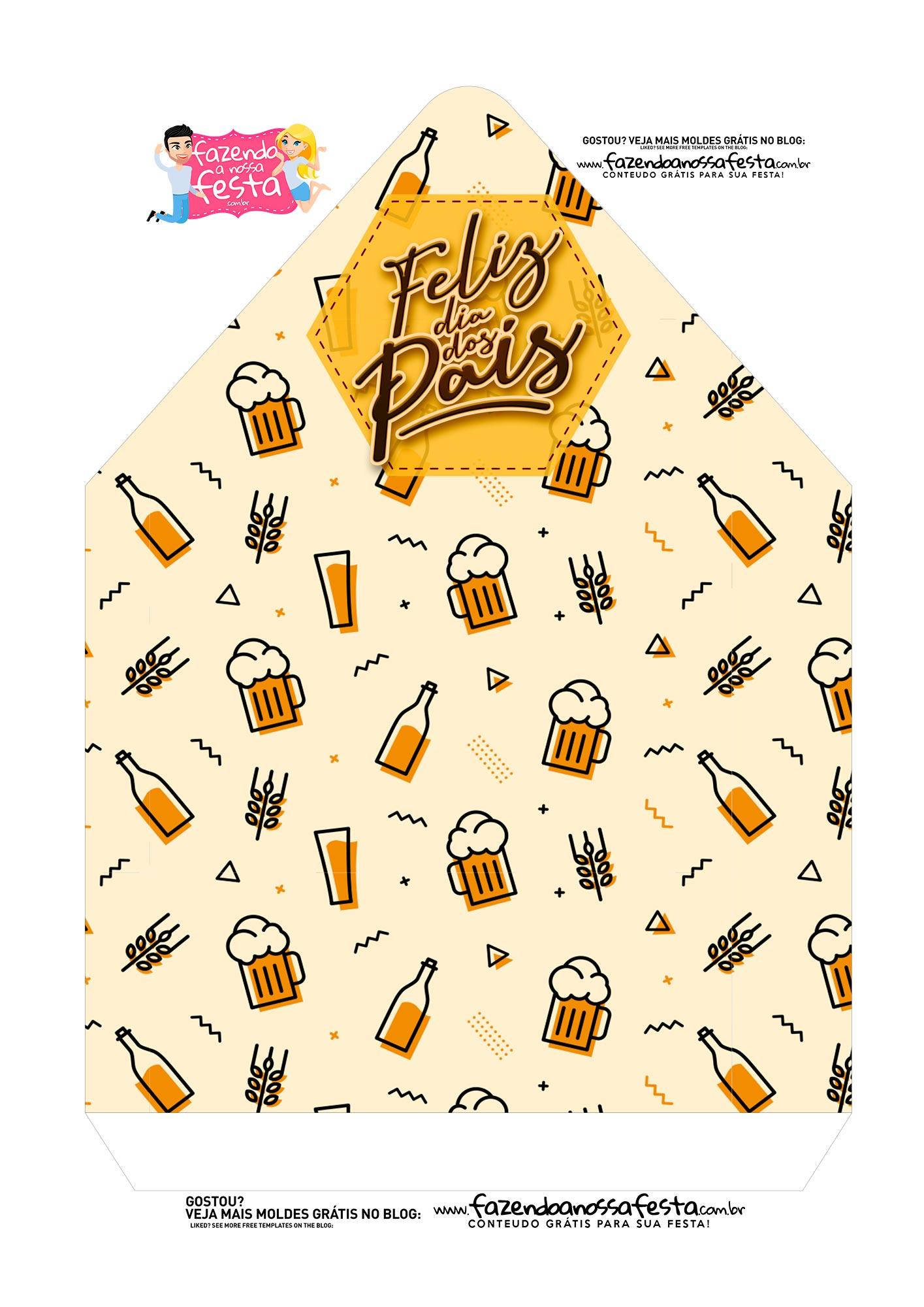 Caixa Envelope Cerveja 2