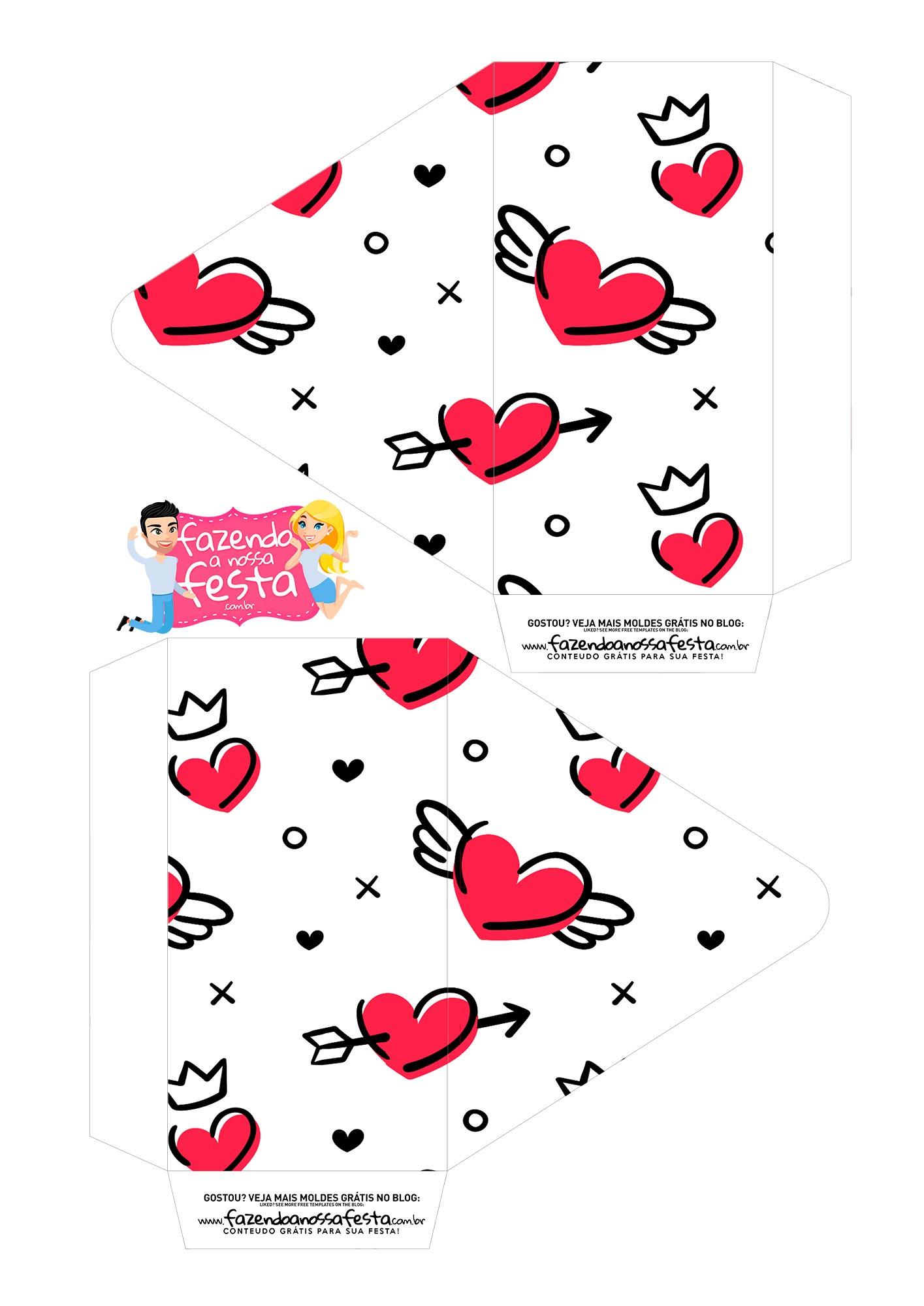 Caixa Envelope Coracoes 1