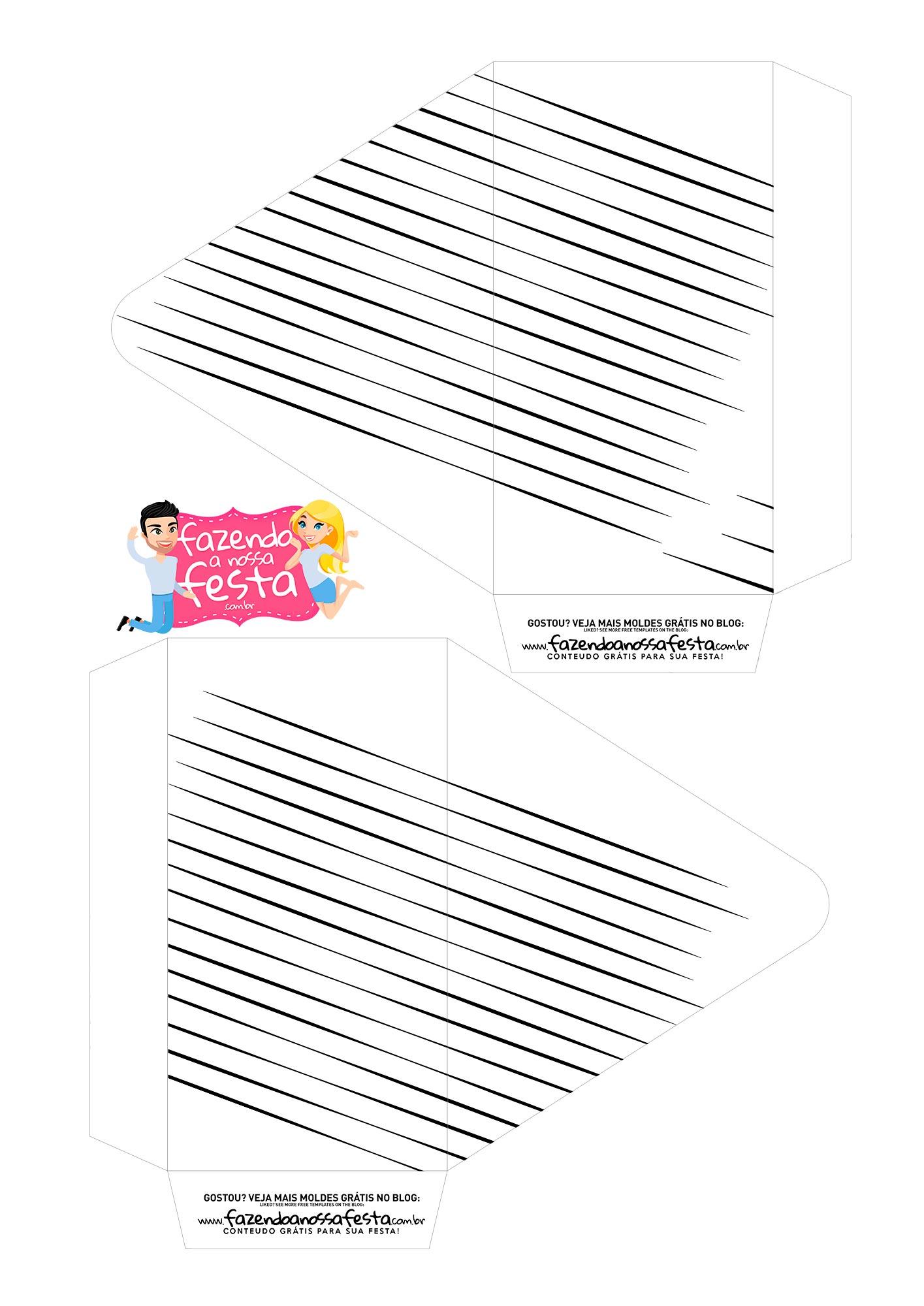 Caixa Envelope Boneco Palito 1