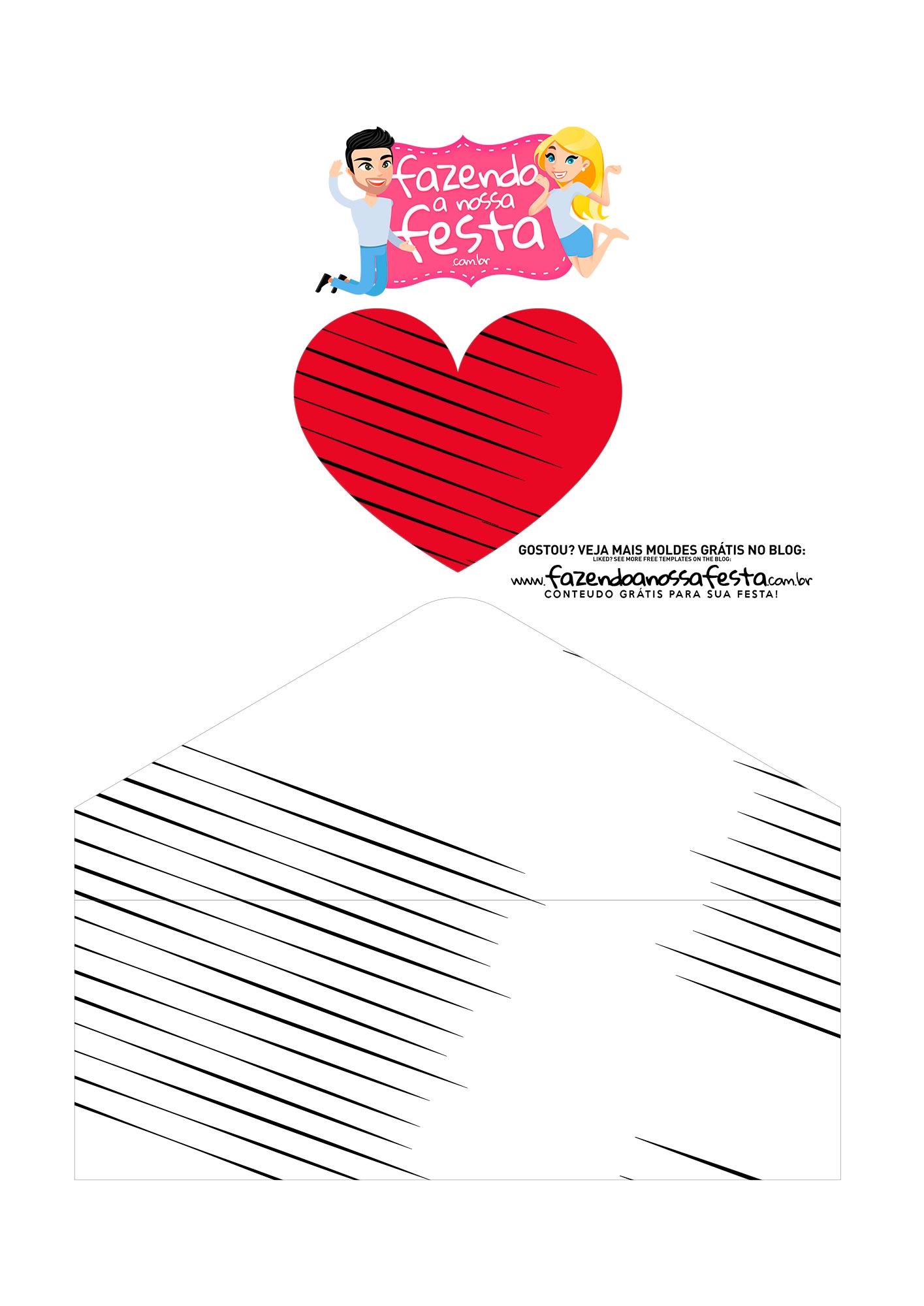 Caixa Envelope Boneco Palito 3