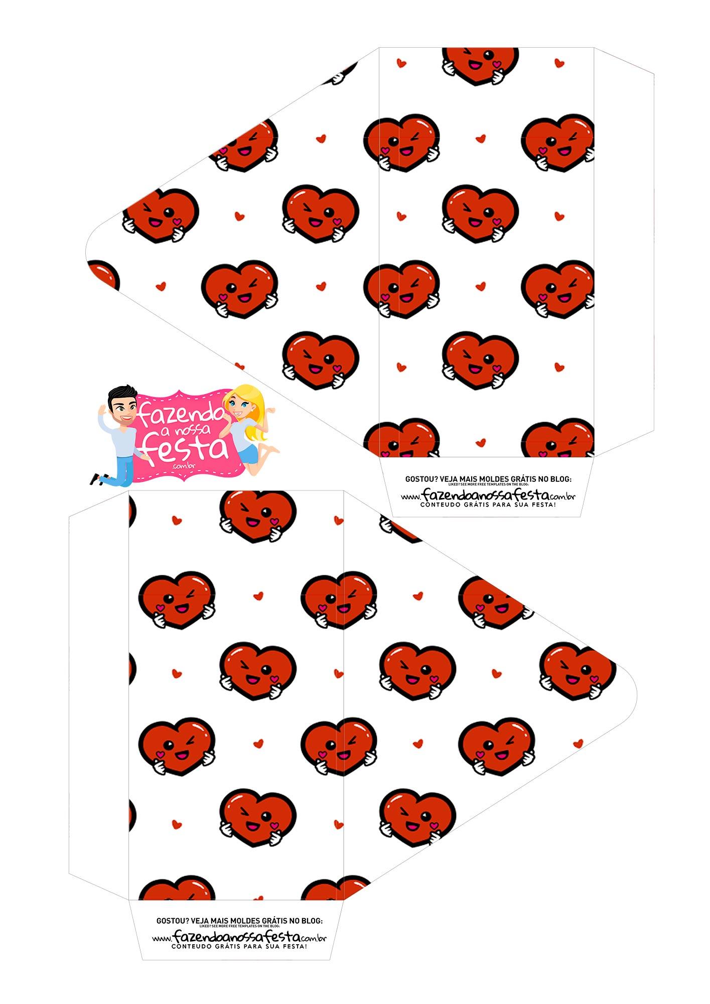 Caixa Envelope Dia dos Namorados Paradigmas 1