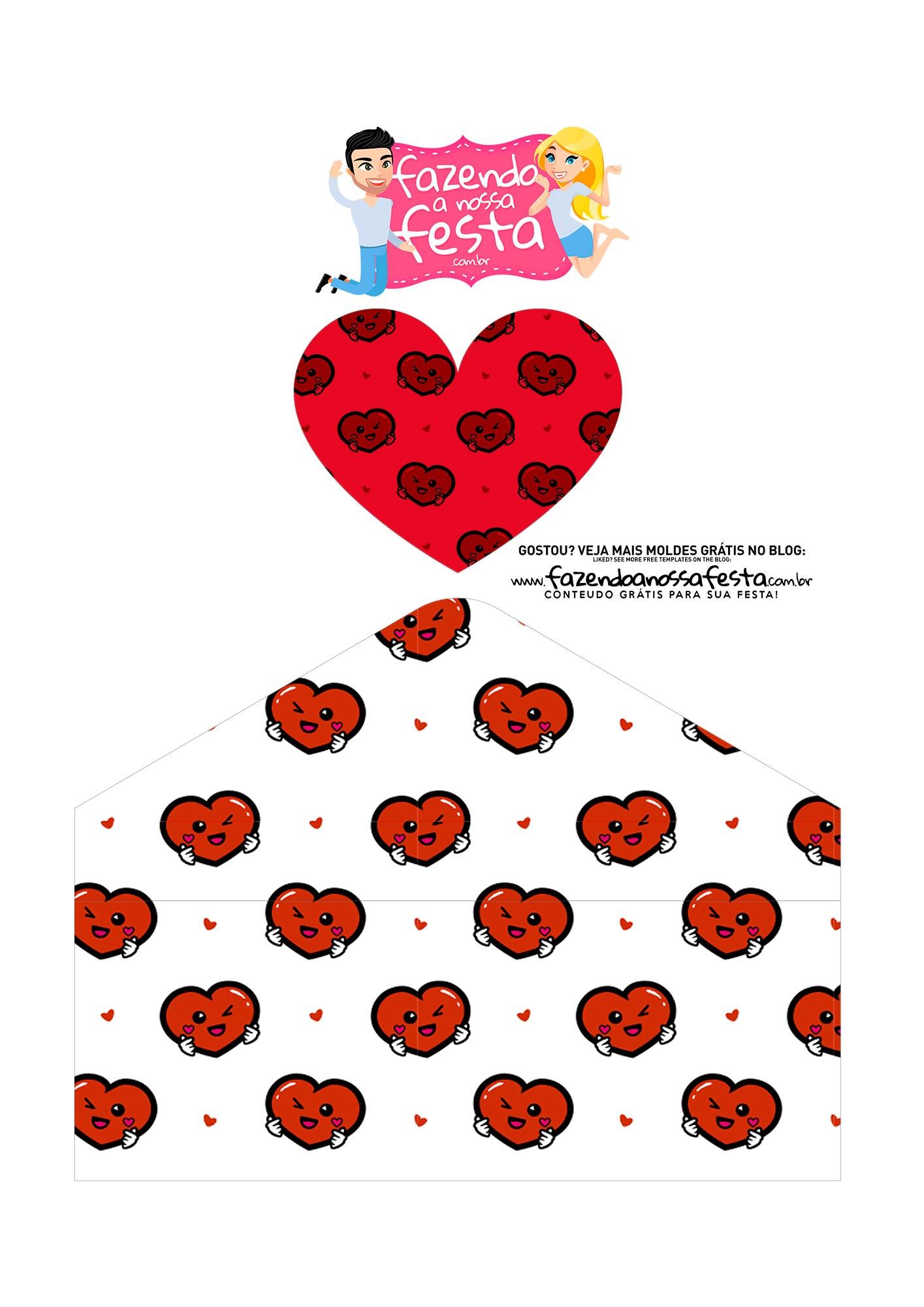Caixa Envelope Dia dos Namorados Paradigmas 3