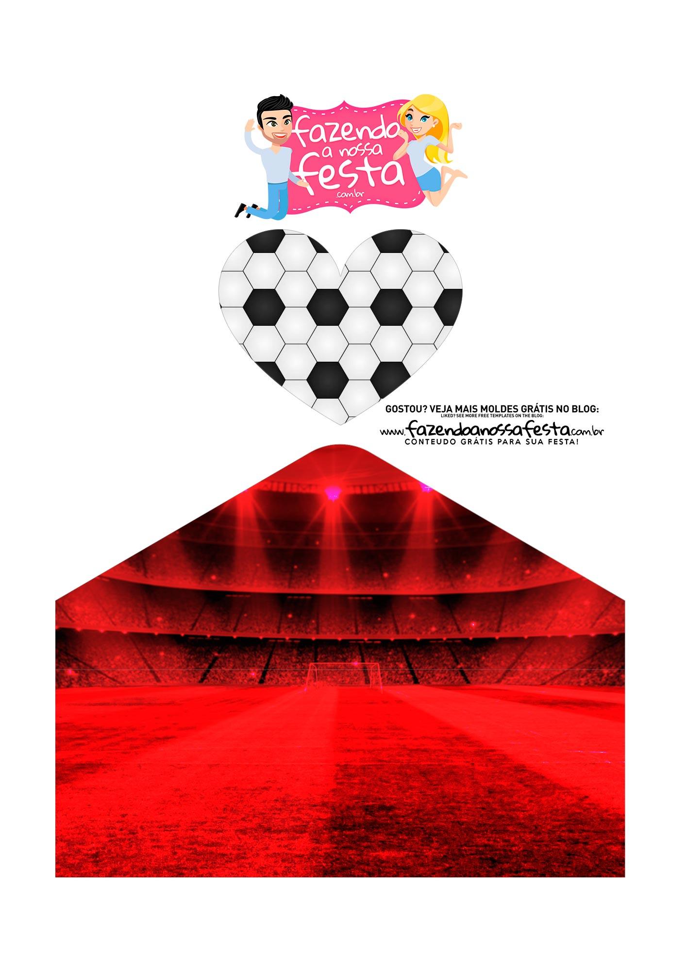 Caixa Envelope Dia dos Pais Flamengo 3