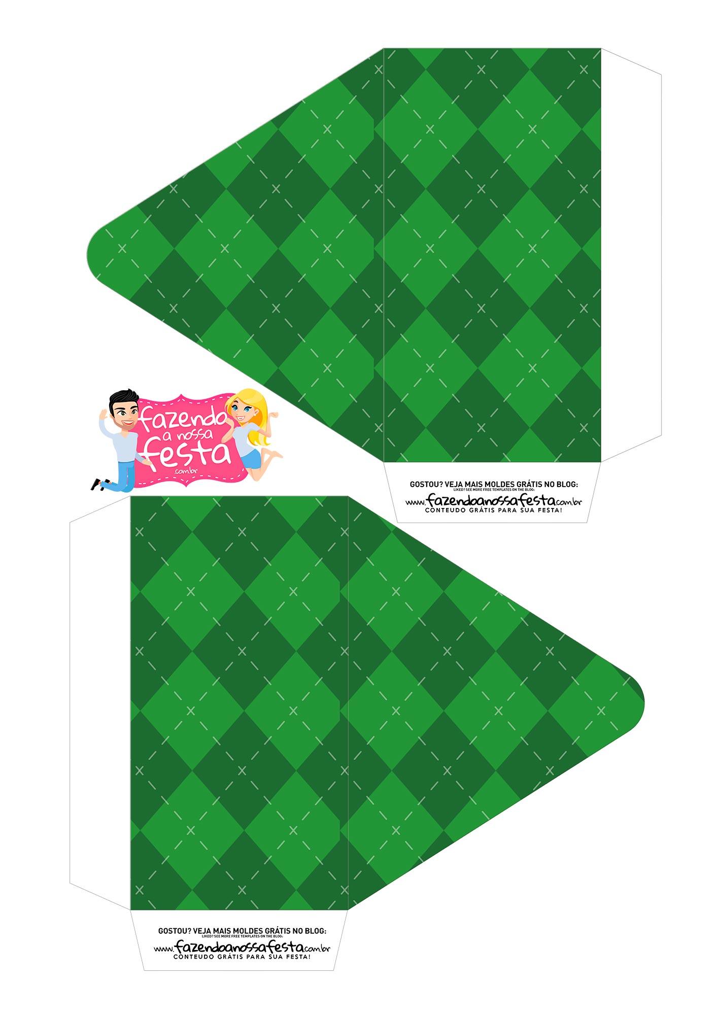 Caixa Envelope Futebol 1