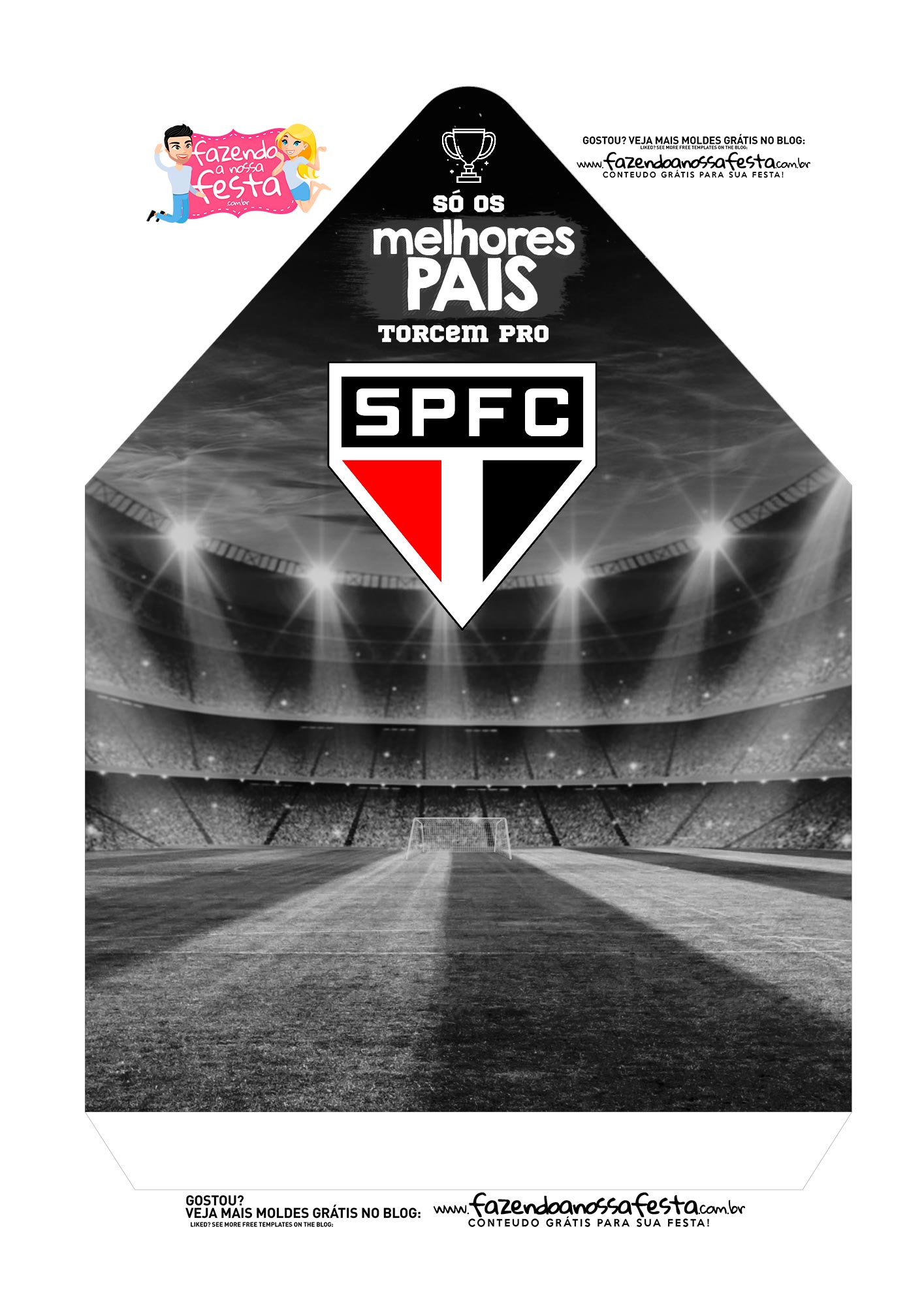 Caixa Envelope Pai Sao Paulo 2