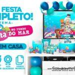 Kit Festa Bita no Fundo do Mar