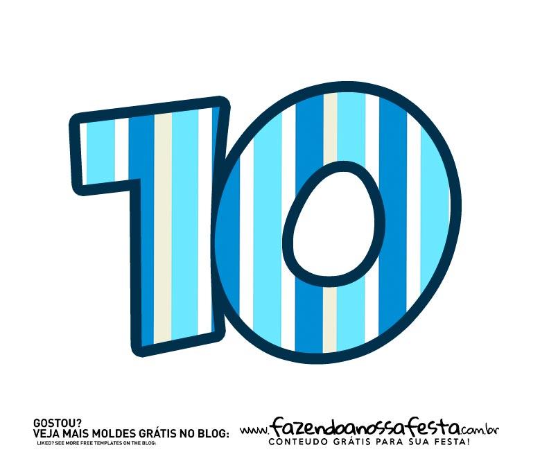 Numero 10 Bita no Fundo do Mar