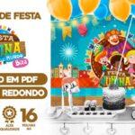 Painel Festa Sao Joao do Bita