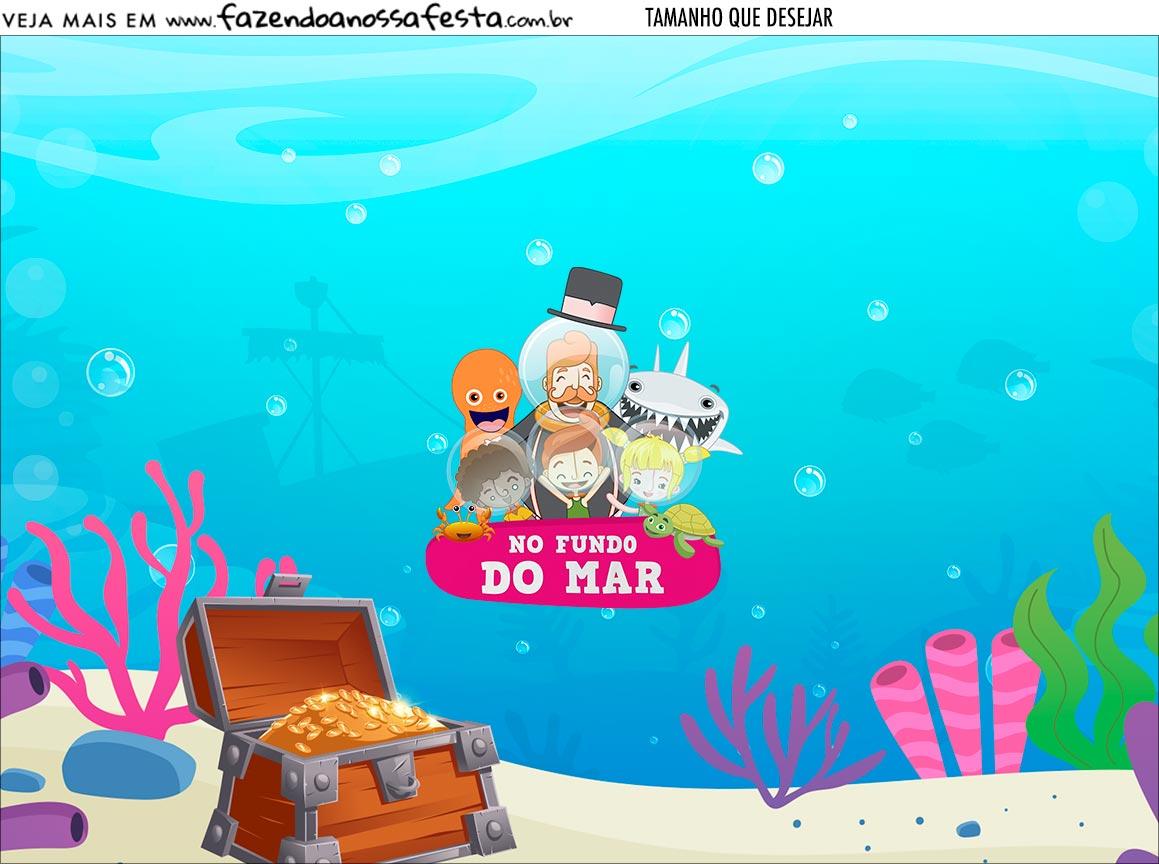 Personalizado Bita no Fundo do Mar