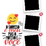 Quadro Dia dos Namorados personalizado com fotos 3