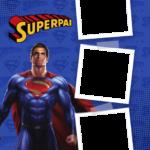 Quadro com foto Superpai