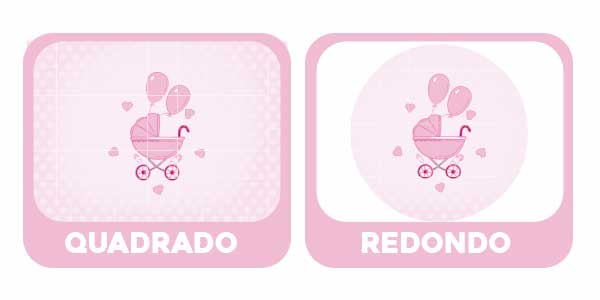 Baixe o PDF Painel Cha de bebe Rosa