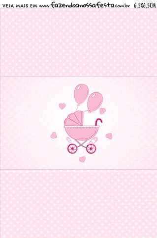 Balinha Cha de bebe Menina