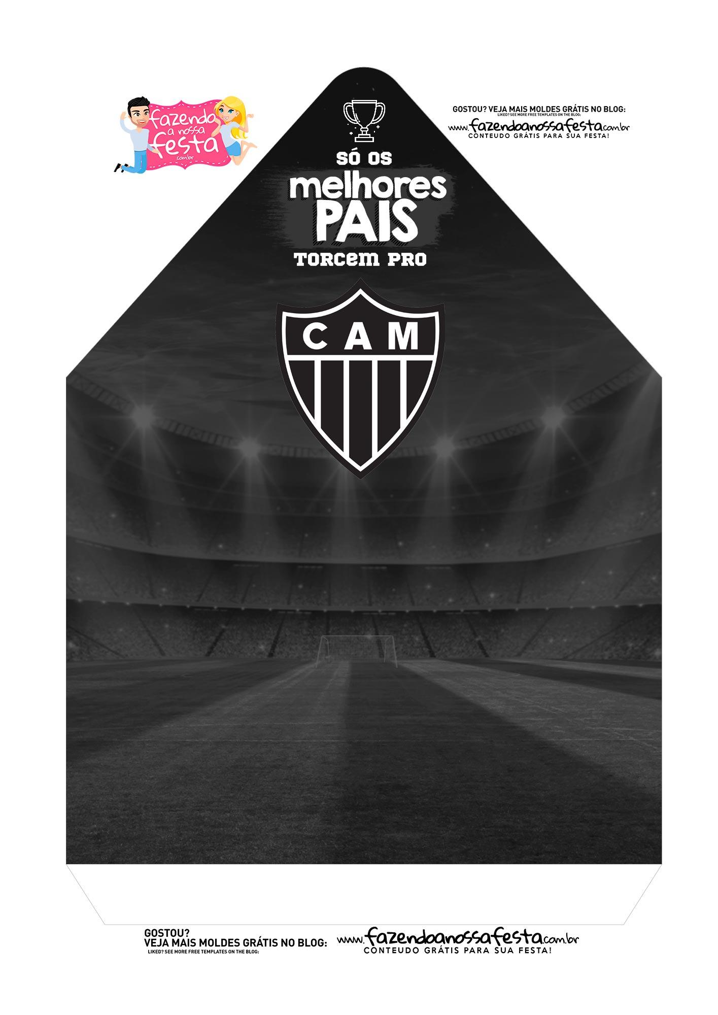 Caixa Envelope Atletico MG 2