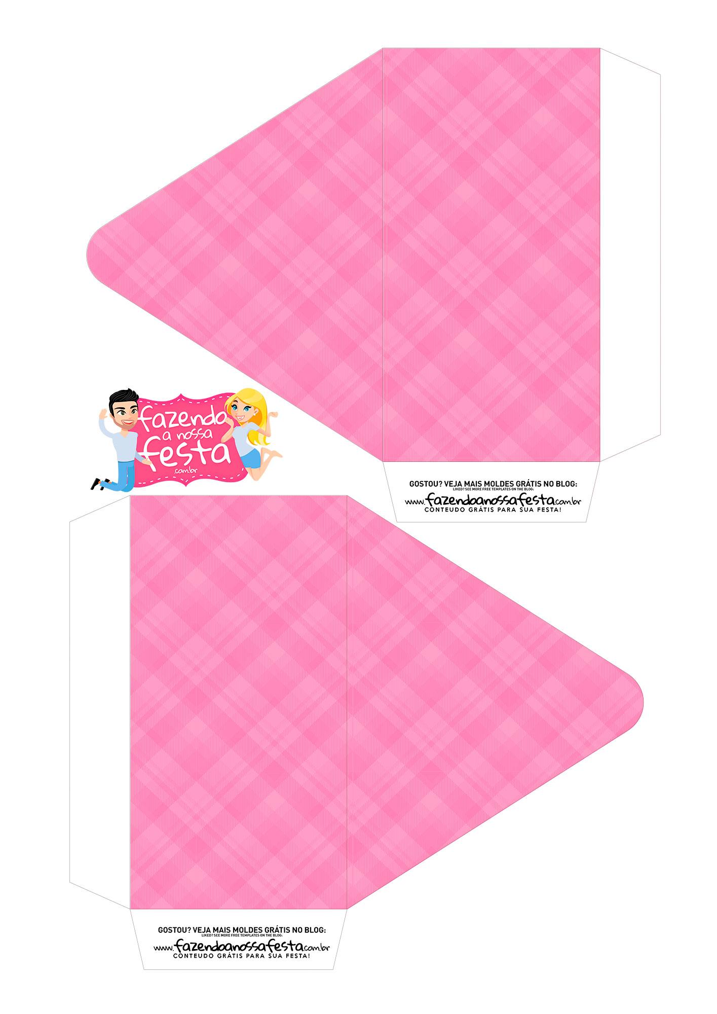 Caixa Envelope Avo Rainha Rosa 1