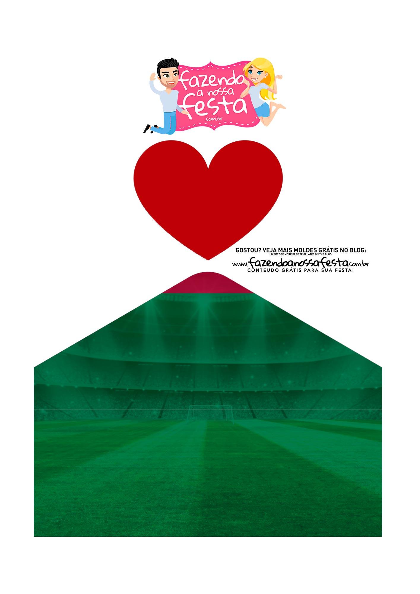 Caixa Envelope Fluminense 3
